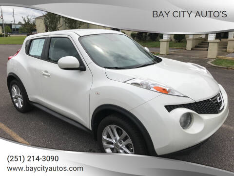2014 Nissan JUKE for sale at Bay City Auto's in Mobile AL