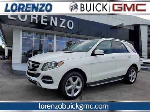 2017 Mercedes-Benz GLE for sale at Lorenzo Buick GMC in Miami FL