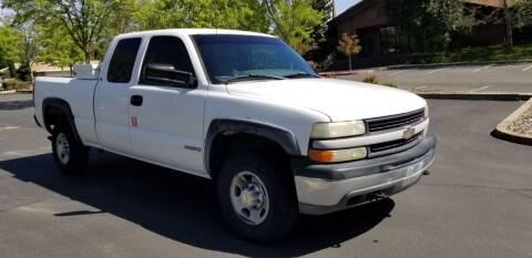 2001 Chevrolet Silverado 2500 for sale at Cars R Us in Rocklin CA