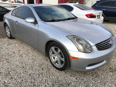 2004 Infiniti G35 for sale at Bay City Auto's in Mobile AL