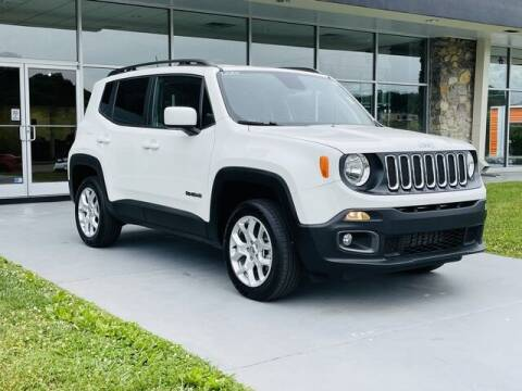 2018 Jeep Renegade for sale at RUSTY WALLACE CADILLAC GMC KIA in Morristown TN