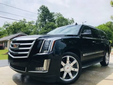 2015 Cadillac Escalade ESV for sale at E-Z Auto Finance in Marietta GA