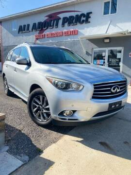 2013 Infiniti JX35 for sale at All About Price in Bunnell FL