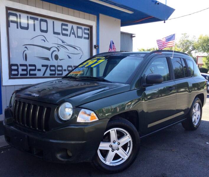 2007 Jeep Compass for sale at AUTO LEADS in Pasadena TX