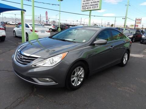 2013 Hyundai Sonata for sale at ALOHA USED CARS in Las Vegas NV