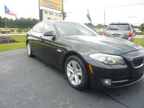2012 BMW 5 Series for sale at Roswell Auto Imports in Austell GA