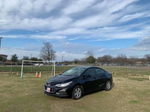 2017 Chevrolet Cruze for sale at LA PULGA DE AUTOS in Dallas TX