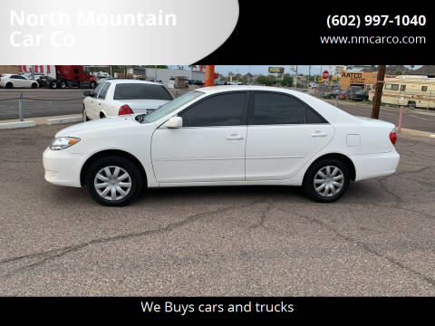2005 Toyota Camry for sale at North Mountain Car Co in Phoenix AZ