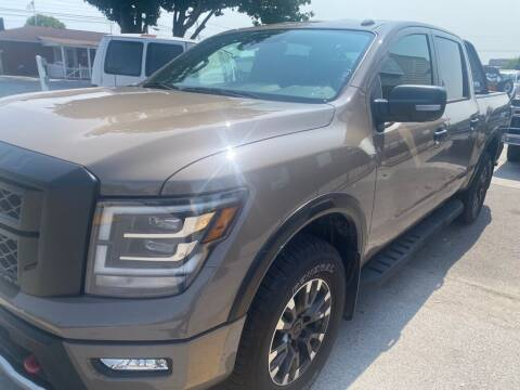 2020 Nissan Titan for sale at Z Motors in Chattanooga TN