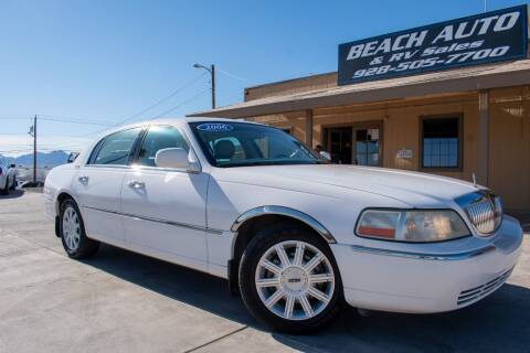 2006 Lincoln Town Car for sale at Beach Auto and RV Sales in Lake Havasu City AZ
