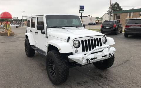 2018 Jeep Wrangler Unlimited for sale at Carney Auto Sales in Austin MN