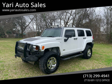 2007 HUMMER H3 for sale at Yari Auto Sales in Houston TX
