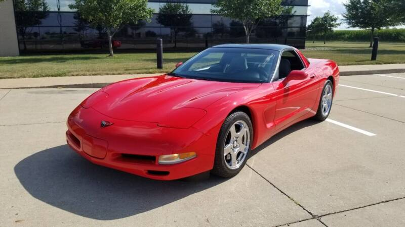 1998 Chevrolet Corvette for sale at Schrader - Used Cars in Mt Pleasant IA