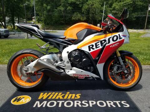 2015 Honda CBR1000RR REPSOL for sale at WILKINS MOTORSPORTS in Brewster NY
