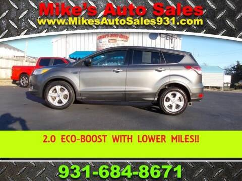 2013 Ford Escape for sale at Mike's Auto Sales in Shelbyville TN