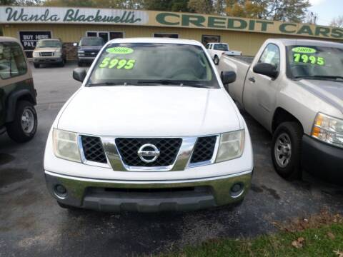 2006 Nissan Frontier for sale at Credit Cars of NWA in Bentonville AR