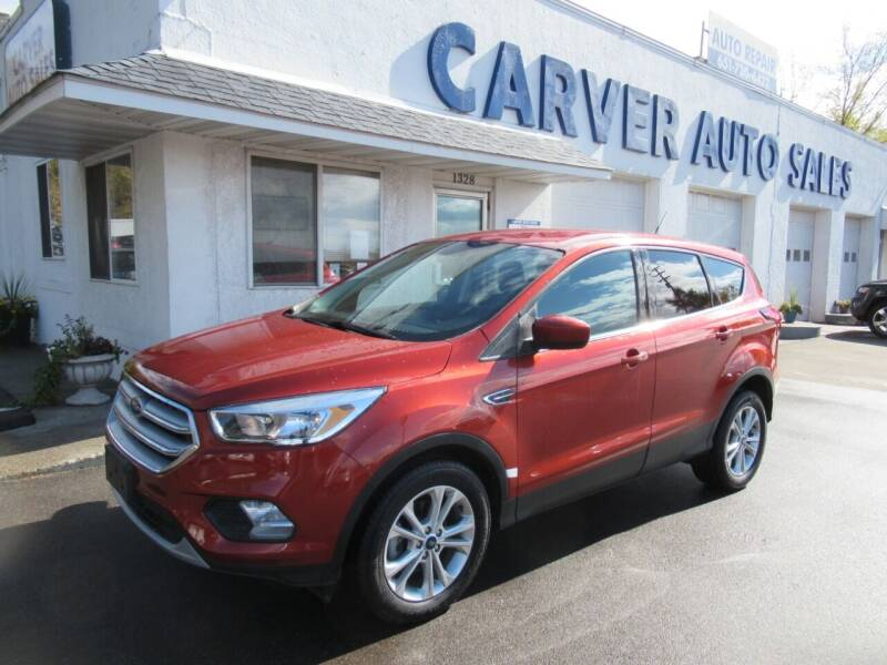 2019 Ford Escape for sale at Carver Auto Sales in Saint Paul MN