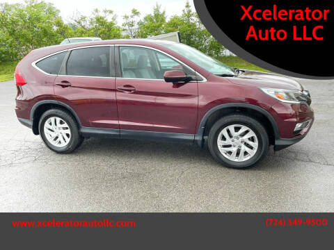 2015 Honda CR-V for sale at Xcelerator Auto LLC in Indiana PA