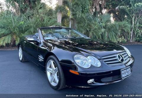 2004 Mercedes-Benz SL-Class for sale at Autohaus of Naples in Naples FL