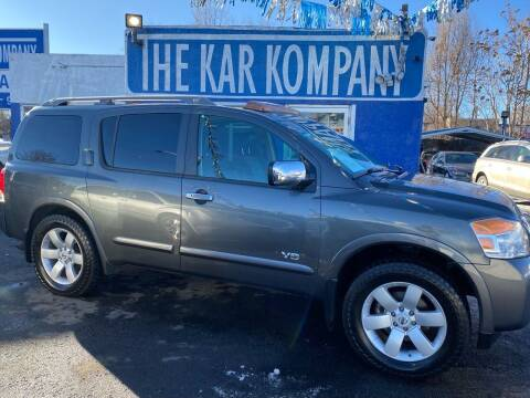 2008 Nissan Armada for sale at The Kar Kompany Inc. in Denver CO