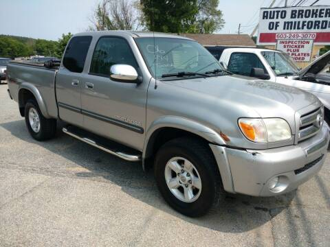 2006 Toyota Tundra for sale at Auto Brokers of Milford in Milford NH