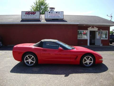 2001 Chevrolet Corvette for sale at G and G AUTO SALES in Merrill WI