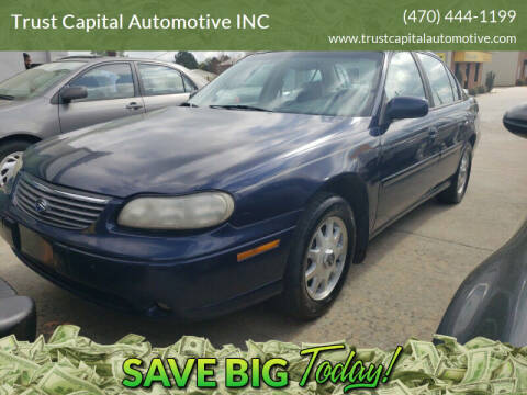 1999 Chevrolet Malibu for sale at Trust Capital Automotive Inc. in Covington GA