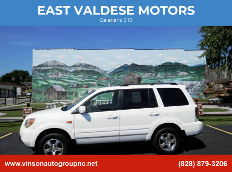 2007 Honda Pilot for sale at EAST VALDESE MOTORS in Valdese NC