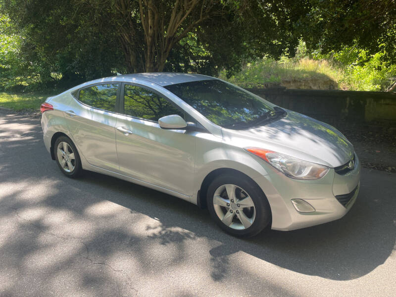 2012 Hyundai Elantra for sale at Bull City Auto Sales and Finance in Durham NC