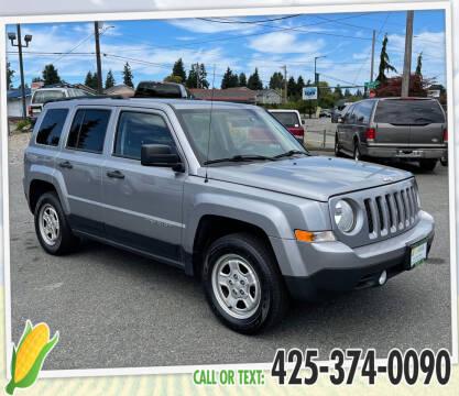 2015 Jeep Patriot for sale at Corn Motors in Everett WA