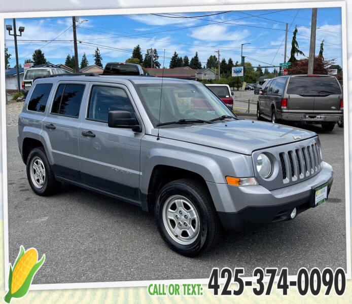 2015 Jeep Patriot for sale in Everett, WA