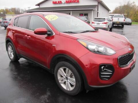 2017 Kia Sportage for sale at Thompson Motors LLC in Attica NY