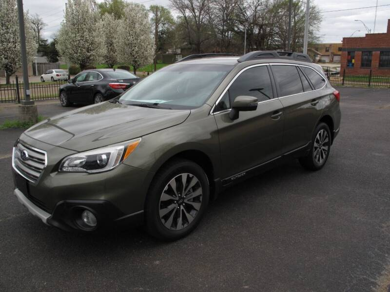 2015 Subaru Outback for sale at Brannon Motors Inc in Marshall TX