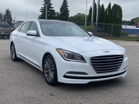 2017 Genesis G80 for sale at Betten Baker Preowned Center in Twin Lake MI