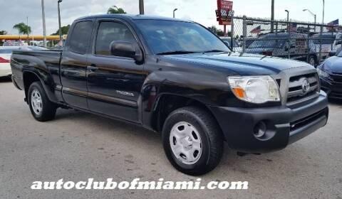 2010 Toyota Tacoma for sale at AUTO CLUB OF MIAMI, INC in Miami FL