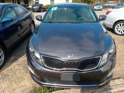 2015 Kia Optima for sale at IDEAL IMPORTS WEST in Rock Hill SC