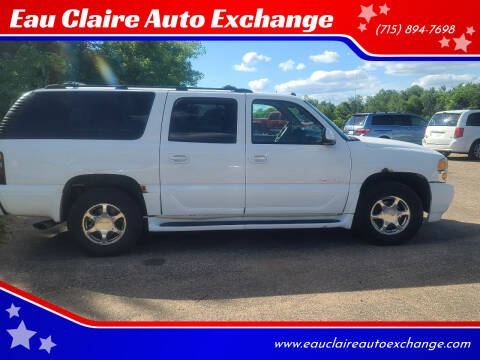 2004 GMC Yukon XL for sale at Eau Claire Auto Exchange in Elk Mound WI