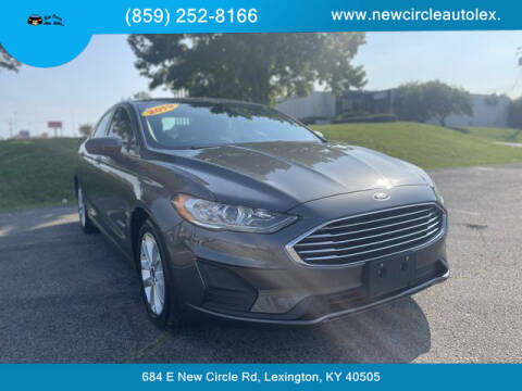 2019 Ford Fusion Hybrid for sale at New Circle Auto Sales LLC in Lexington KY