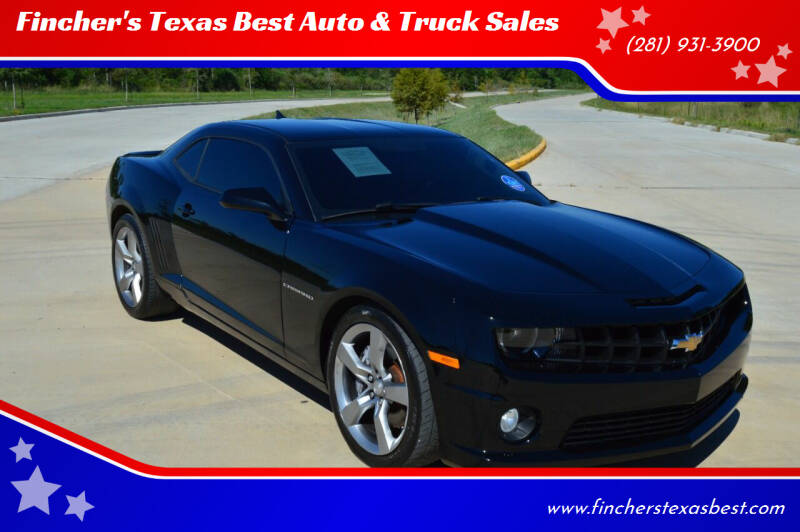 2011 Chevrolet Camaro for sale at Fincher's Texas Best Auto & Truck Sales in Tomball TX