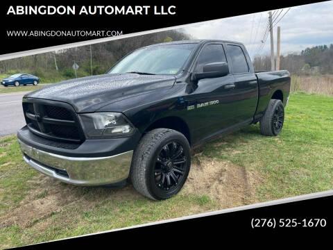 2011 RAM Ram Pickup 1500 for sale at ABINGDON AUTOMART LLC in Abingdon VA