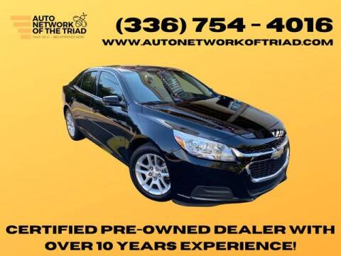 2016 Chevrolet Malibu Limited for sale at Auto Network of the Triad in Walkertown NC