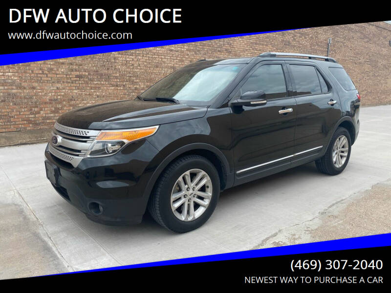 2014 Ford Explorer for sale at DFW AUTO CHOICE in Dallas TX