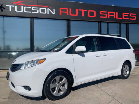 2013 Toyota Sienna for sale at Tucson Auto Sales in Tucson AZ