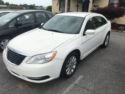 2011 Chrysler 200 for sale at RJD Enterprize Auto Sales in Scotia NY