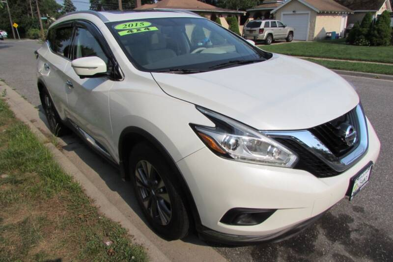 2015 Nissan Murano for sale at First Choice Automobile in Uniondale NY