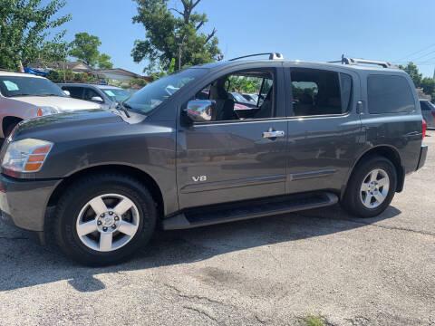 2007 Nissan Armada for sale at FAIR DEAL AUTO SALES INC in Houston TX