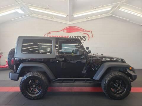 2008 Jeep Wrangler for sale at Premium Motors in Villa Park IL