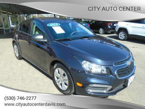 2015 Chevrolet Cruze for sale at City Auto Center in Davis CA