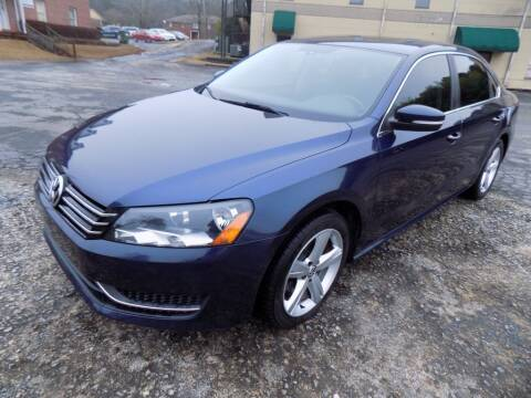2013 Volkswagen Passat for sale at S.S. Motors LLC in Dallas GA
