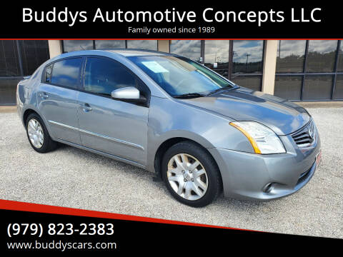 2011 Nissan Sentra for sale at Buddys Automotive Concepts LLC in Bryan TX